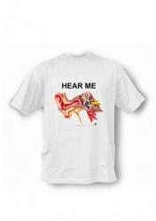 Анатомическая футболка с изображением уха. Подарок студенту медицинского колледжа и вуза. Услышь меня