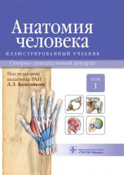 Анатомия человека. Учебник в 3 томах. Том 1. Опорно-двигательный аппарат