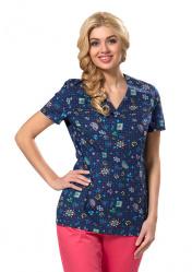 Блуза медицинская женская LF2102