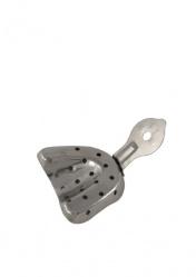 Ложка оттискная стоматологическая, металическая для верхней челюсти №3