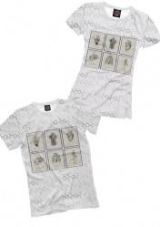 Стильная футболка с медицинской тематикой Medical Map
